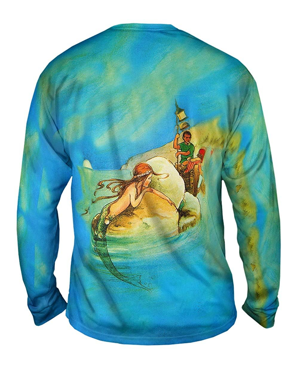Yizzam Mermaid On Ro Mabel Lucie Artwell Mens Long Sleeve 1806