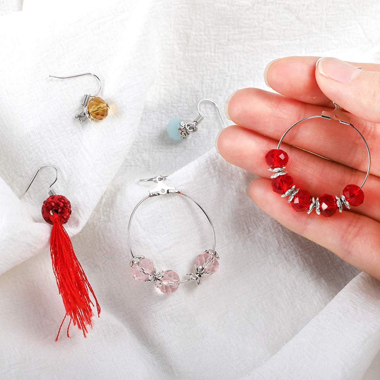 Wohlstand 300 PCS Distanziatori Stile Perline Accessori,Gioielli Accessori Perline,Perline Distanziatori Tibetana,per Creazione Braccialetti collane Orecchini Accessori componenti di Gioielli