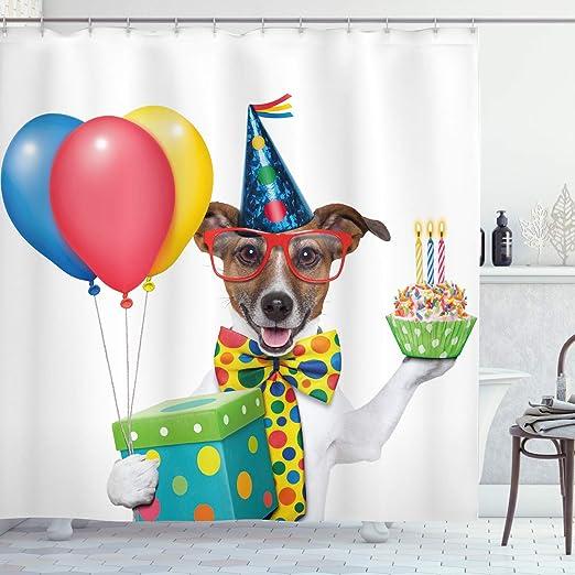 Decoración de cumpleaños para niños cortina de ducha por ...