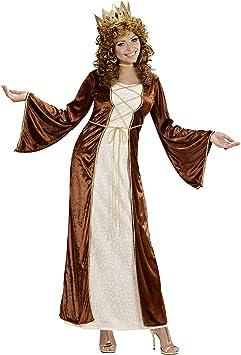 WIDMANN Desconocido Disfraz de princesa medieval para mujer ...