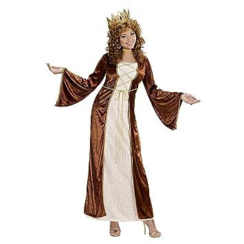 WIDMANN Widman - Disfraz de princesa medieval para mujer, talla XL ...