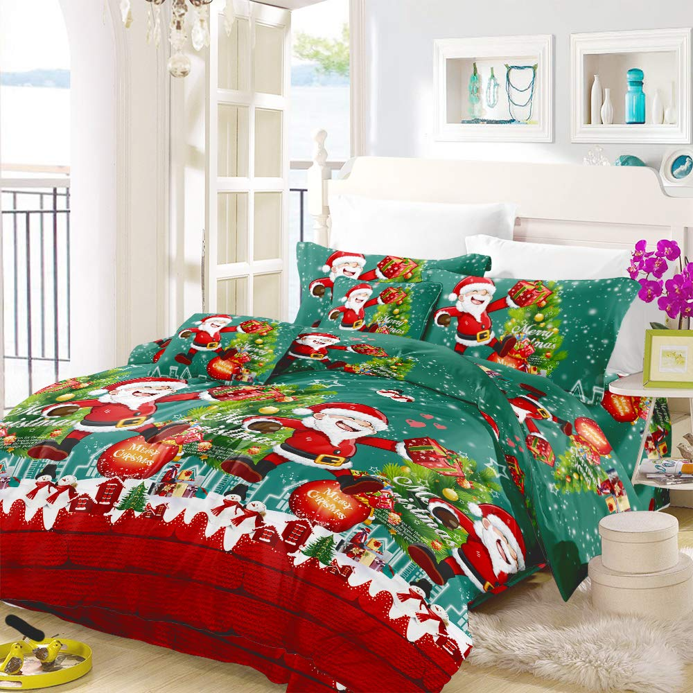Duvet Cover Full Size Bed Sheet Pillowcase Set,Bedroom Decor