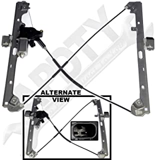 APDTY 852755 Power Window Cable Regulator & Motor Assembly Fits Front Left 1999-2007 Chevrolet