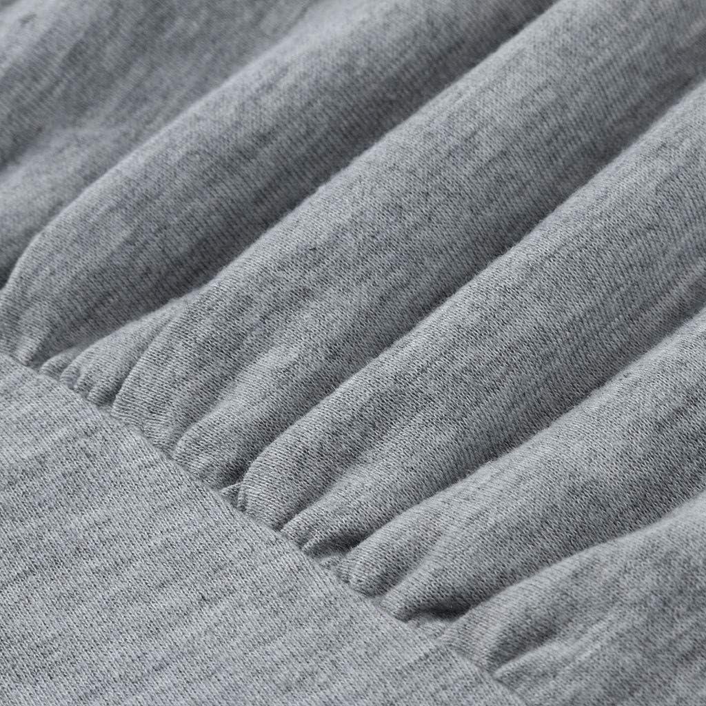 PRETTYEST Kurzarm Damen Umstands Tshirt Umstandstop Umstandsmode Stilltop Schwangerschaft Stilloberteil Frauen Solide Casual Doppelschicht Shirt Oberteile Tops Blusen Still-Shirt
