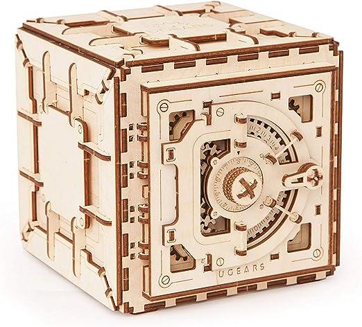 Ydq Kit de Seguridad de Modelo de, Rompecabezas de Madera 3D, Caja Fuerte mecánica para Bricolaje: Amazon.es: Hogar