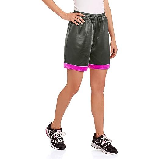 6f648ccddab3df Amazon.com  Danskin Now Women s Colorblock Long Basketball Dazzle Shorts  (Large