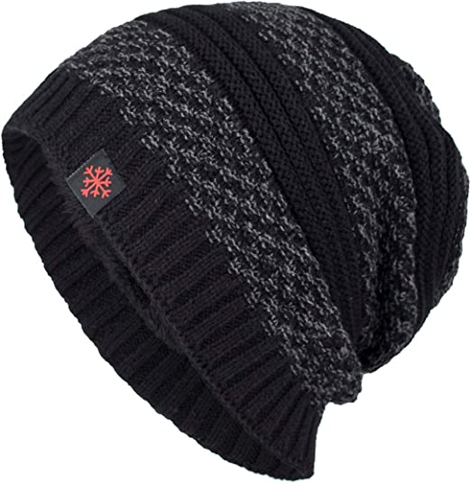 Pussy-Hat Cat ears Black Christmas Ski Winter Hat Cold snow Beanie one size
