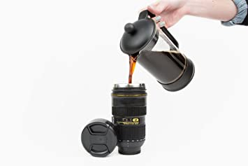 Amazoncom Camera Lens Mug Looks Like Your Fav Nikon Lens - Nikon coffee cup lens