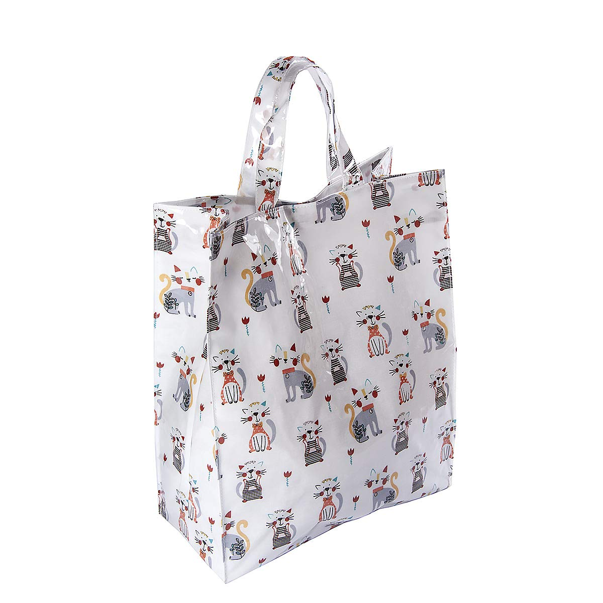 Dalmatian Reusable Cotton Shopping Bag with Gusset and Long Handles Perfect Gift