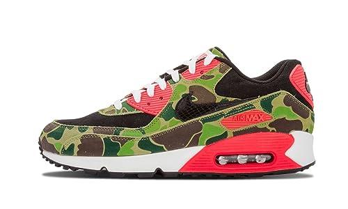 d373ae6567 Nike Air Max 90 'Duck Camo' Atmos - Black/Black-Chlorophyll-Infrrd Trainer:  Amazon.co.uk: Shoes & Bags