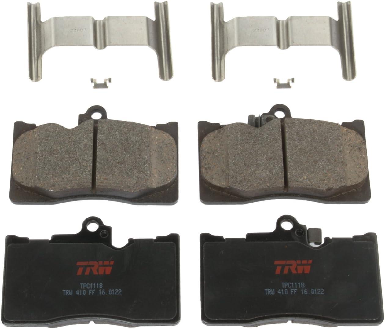 TRW TPC1184 Premium Ceramic Front Disc Brake Pad Set TRW Automotive
