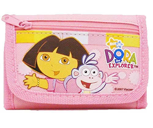 NEW DORA THE EXPLORER  AND BOOTS ID WALLET PHOTO HOLDER