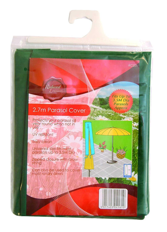 Hamble Redwood BB-RC201 2.7m x 25 x 50cm Parasol Cover Hamble Distribution ltd