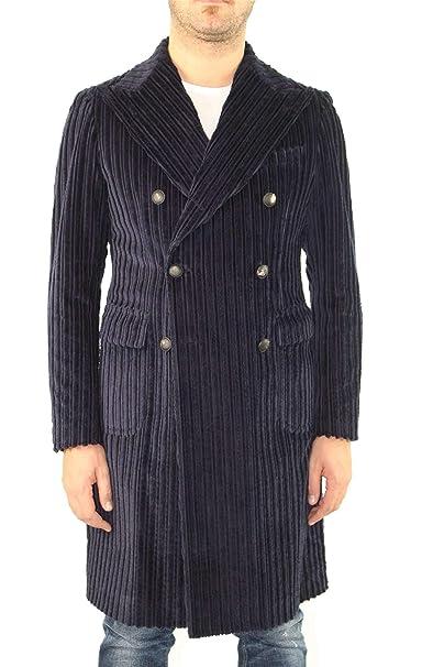 TAGLIATORE CPLMOWV30VIZ037 Cappotto Uomo Blu 48  Amazon.it  Abbigliamento 98baf04f8db