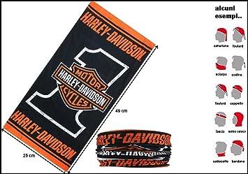 Harley Davidson pañuelo, bufanda, banda para la cabeza ...