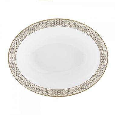 Lismore Diamond Open Vegetable Platter