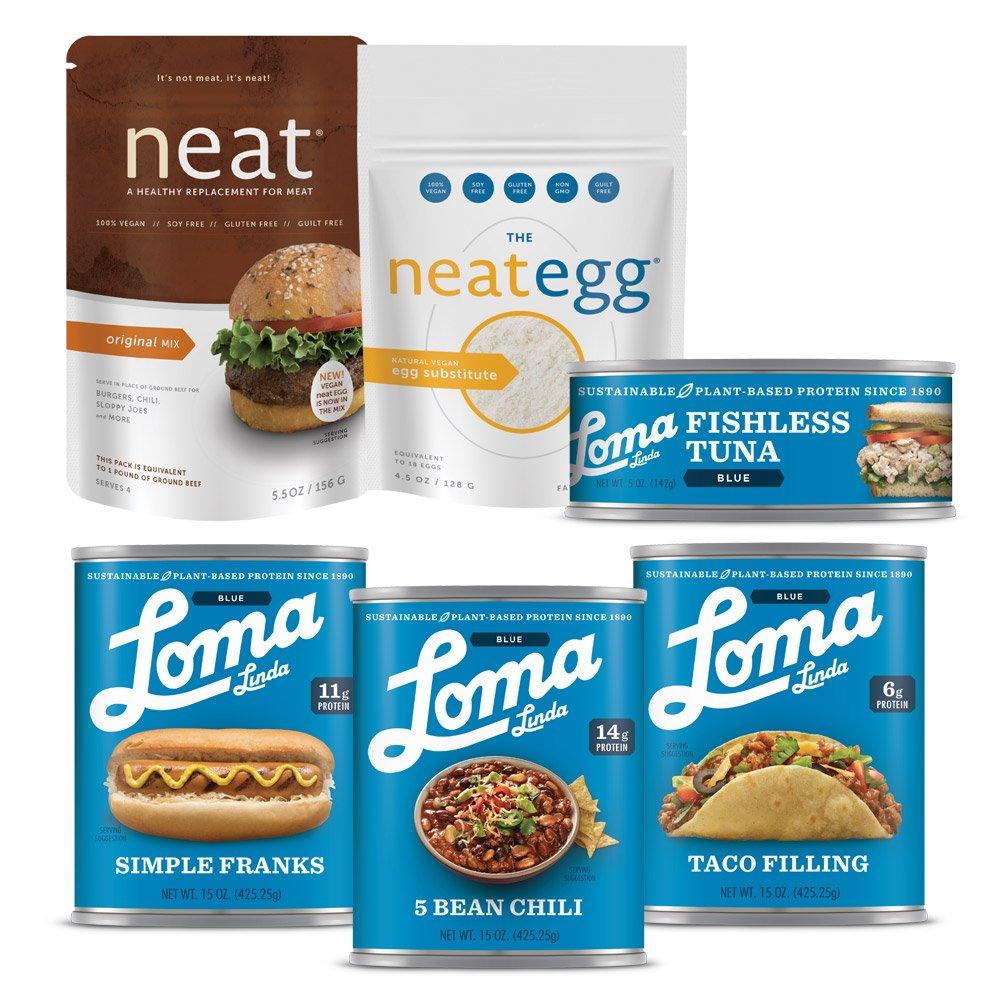 Loma Linda Blue - Best Tasting Vegan Sample Pack (65 oz.)