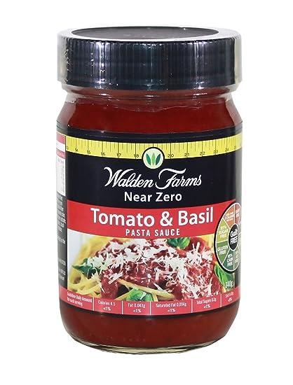Walden Farms Tomate y Albahaca pasta sauce 340 g