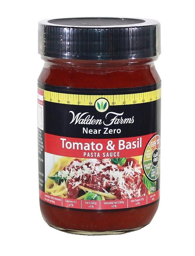 WALDEN FARMS Pasta Sauces Tomate & Basil - 1 Envase: Amazon.es ...