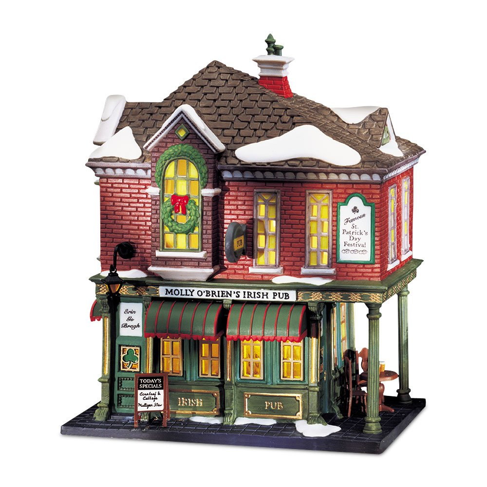 Department 56 Christmas in the CityMolly O'Briens Irish Pub