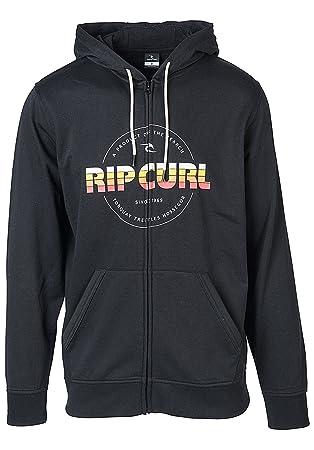 Rip Curl Herren Big M Fleece Sweatshirt, Schwarz, 2X-Large
