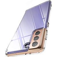 """Ringke Fusion Compatible con Funda Galaxy S21 Plus 5G (6.7"""") Hybrid PC Trasera Dura con Parachoques de TPU Flexible…"""
