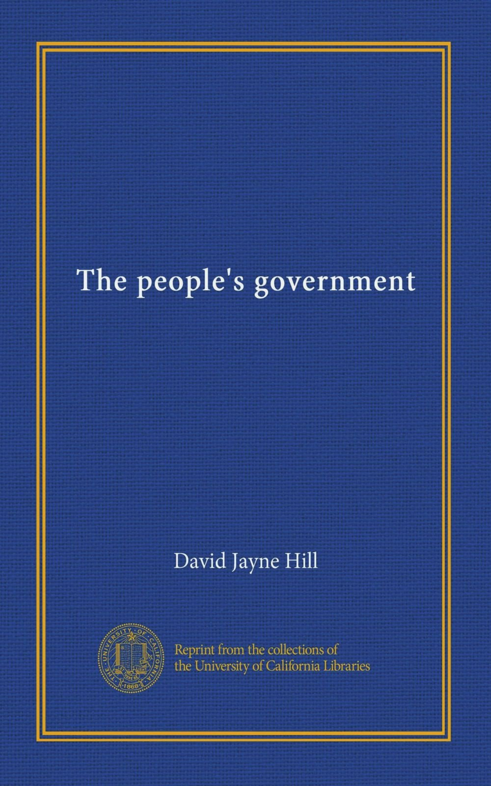Download The people's government PDF