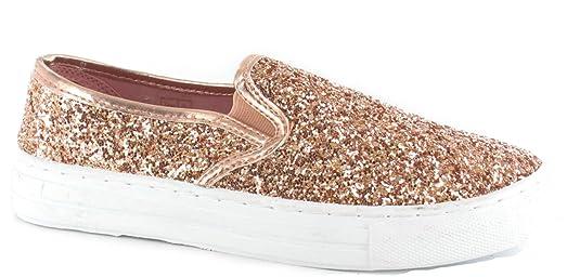 Definitely You Zapatos de Tacón Mujer, Color Dorado, Talla 37 1/3