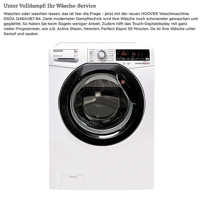 Hoover Waschmaschine 8Kg A 1400 U Min Dampftechnik