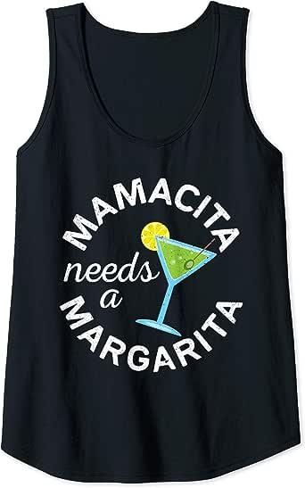 Download Amazon.com: Womens Mamacita Needs A Margarita T-Shirt ...
