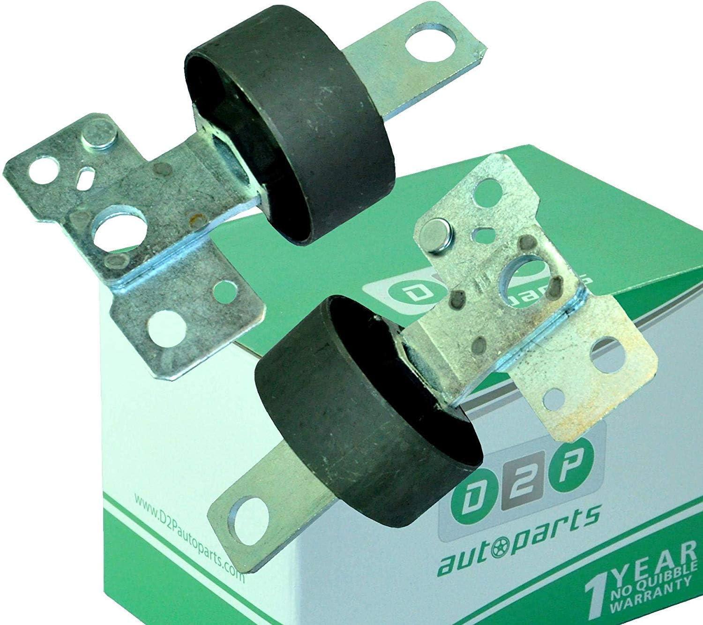 D2P REAR TRAILING ARM//CONTROL ARM BUSHES FOR MONDEO S-MAX GALAXY 1566810//837PAIR