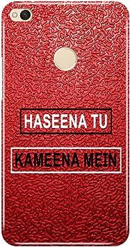 Hupshy Printed Back Cover for Redmi 4   Multicolor Mobile Accessories