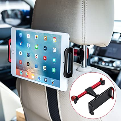 Car Headrest Mount Earto Backseat IPad Holder With 360 Degree Rotate For 4