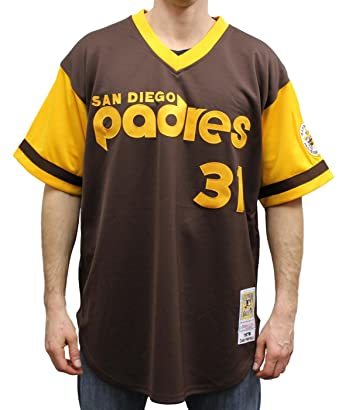 new arrivals 64f94 ed69c Dave Winfield San Diego Padres Mitchell & Ness MLB Authentic ...