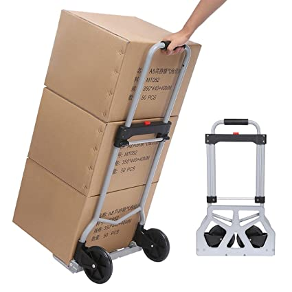 office trolley cart. Hindom Folding Hand Truck Luggage Trolley Cart 220LBS For Travel Shopping  Home Office Office Trolley Cart
