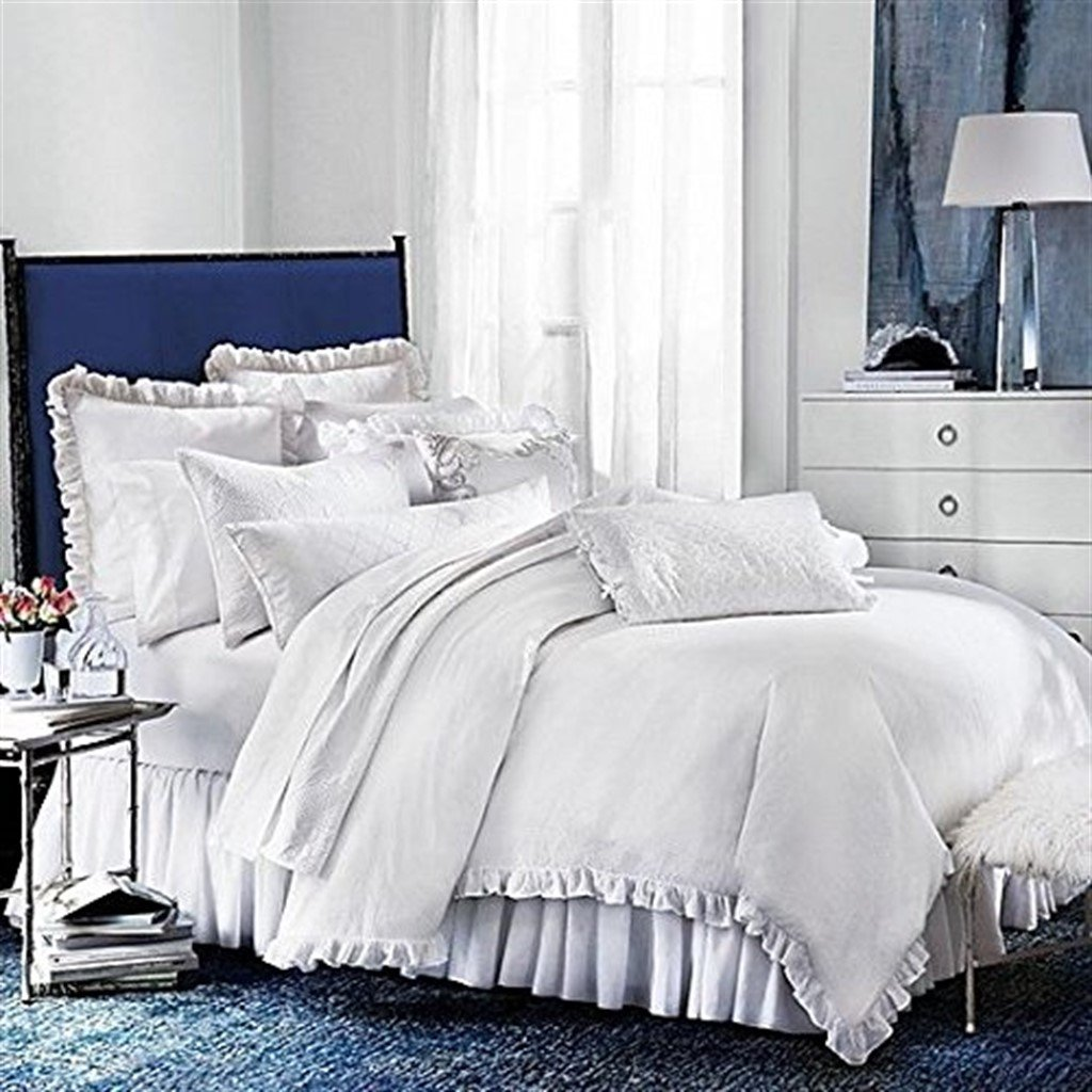 Bloomingdales 1872 100/% Cotton Signature Pique Standard Pillowsham