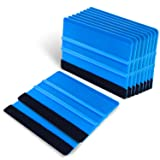 "Vinyl Squeegee 4 "" Felt Squeegee 10 PCS for Car"