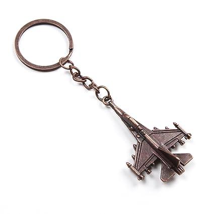 Porte-clés Bronze Avion de Chasse (Fighter Jet Keyring)  Amazon.fr ... 293cf3f24da