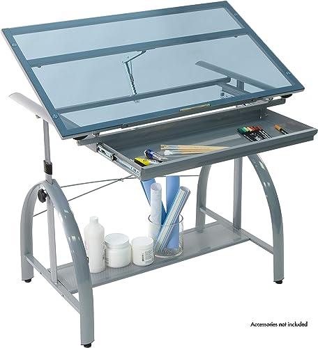 SD STUDIO DESIGNS 10060 Avanta Top Adjustable Drafting Craft Drawing Hobby Table Writing Studio Desk