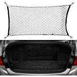 Cargo Trunk Net for Q50, Stretchable Truck Net Universal Nylon Mesh Car Rear Storage Organizer Net with Hooks and…