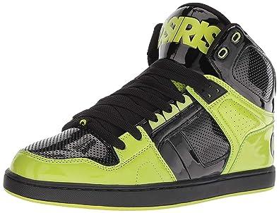 9cbffc7d259 Amazon.com   #Osiris NYC 83 CLK Black Lime Mens Skate Mid Trainers ...