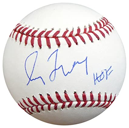 the latest 30dd8 1de6d Greg Maddux Autographed Signed Official MLB Baseball Atlanta ...