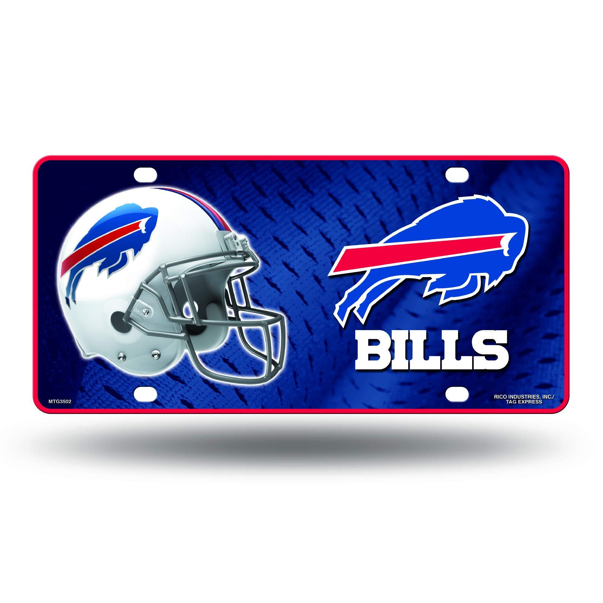 NFL Buffalo Bills Metal License Plate Tag