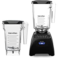 Blendtec Classic 575 Blender with 90oz Wildside Jar + 75oz FourSide Jar