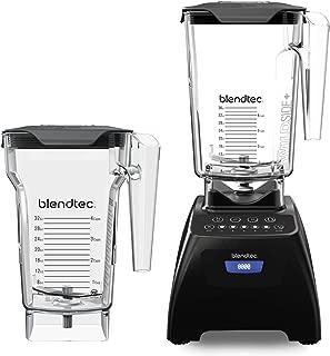 product image for Blendtec Classic 575 Blender - WildSide+ Jar (90oz) and FourSide Jar (75 oz) BUNDLE - Professional-Grade Power - Self-Cleaning - 4 Pre-programmed Cycles - 5-Speeds - Black