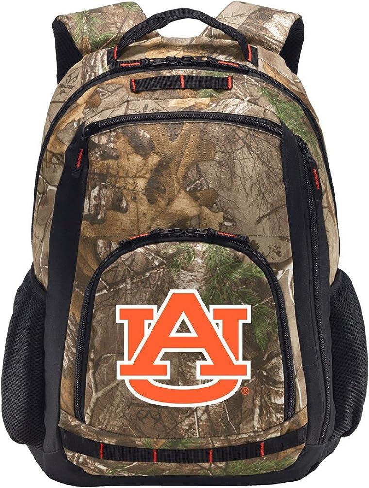 Laptop Section! Broad Bay Auburn Camo Backpack Realtree Auburn University Backpacks