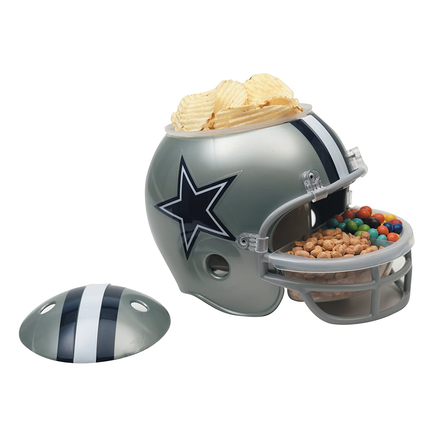 Amazon.com : NFL Dallas Cowboys Snack Helmet : Sports Fan Bowls : Sports U0026  Outdoors
