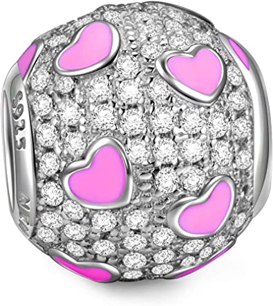 charm pandora meraviglioso amore rosa