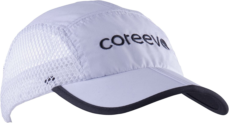 Coreevo - Gorra running, Blanco: Amazon.es: Deportes y aire libre