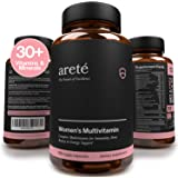 Natural Womens Multivitamin Supplement – 30+ Potent Vitamins, Minerals and Herbs for Women Health, Immune & Female Support, A